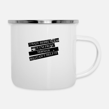 Norman Motive for cities and countries - NORMAN - Enamel Mug