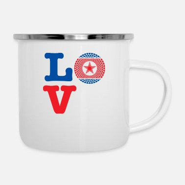 Demo KOREA DEMO REP HEART - Enamel Mug