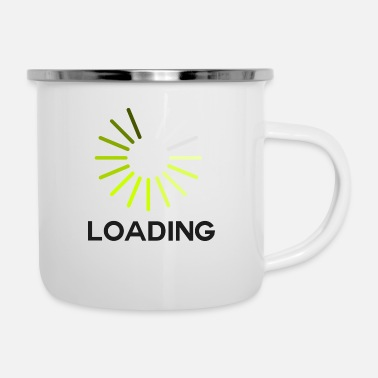 Laden Laden - Emaille-Tasse