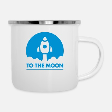 Moon To The Moon - Enamel Mug