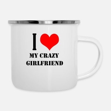 Girlfriend Girlfriend - Emaille-Tasse