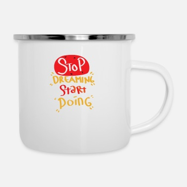 Start Motivation Start First Step Start Start Goal - Enamel Mug