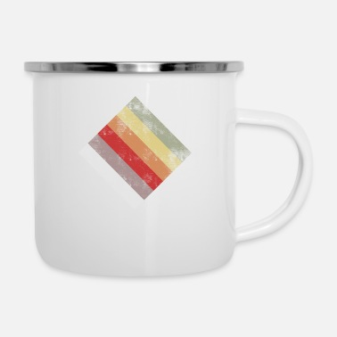 Rectangle rectangle - Enamel Mug