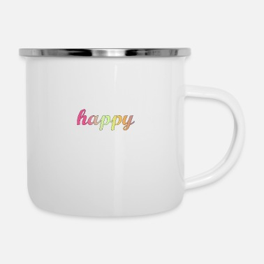 Happy happy - Mug émaillé
