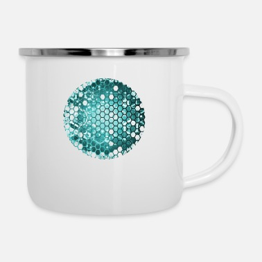 New planet blue - Enamel Mug