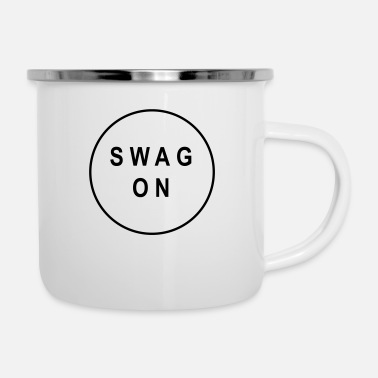 Swag Swag on - Enamel Mug