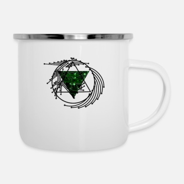 Virus Virus Maker - Emaille-Tasse