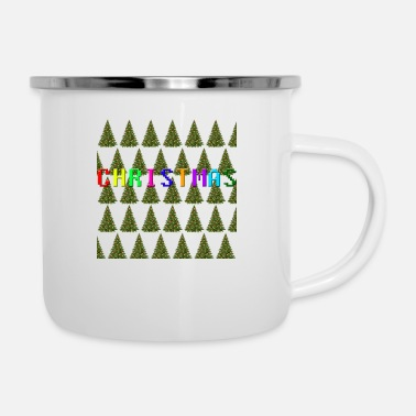 Christmas Christmas - Emaille-Tasse