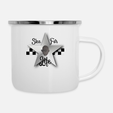 Rudeboy Ska for Life - Enamel Mug
