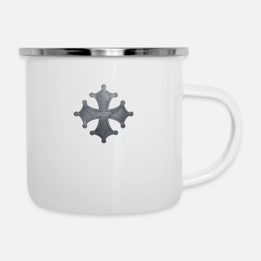 Iron Metal Occitan cross metal iron - Enamel Mug