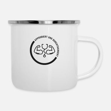 Alls Well Approved and well-trained (DR4) - Enamel Mug