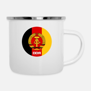 New German States DDR - Enamel Mug
