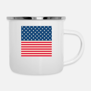 Stars And Stripes Stars and stripes - Enamel Mug