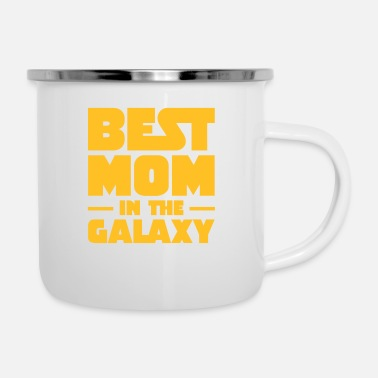 Scifi Best Mom In The Galaxy - Emaille mok