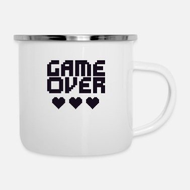 Game Over Retro game over (Game over) - Emaljekrus