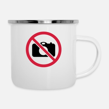 Picture No pictures! - Enamel Mug