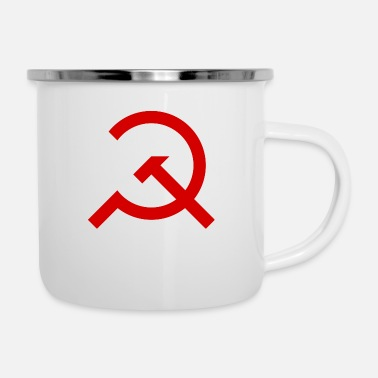 Marxisme Marteau simple et Sickle - Mug émaillé