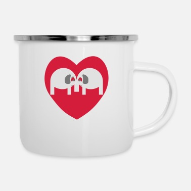 Take Elephants take - Enamel Mug
