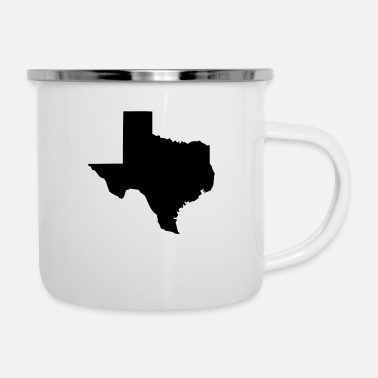 Texas Texas - Tazza smaltata