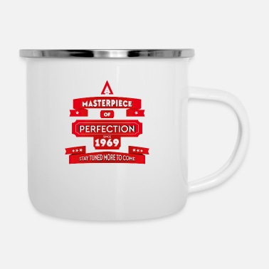 1969 Masterpiece 1969. Perfect since 1969. - Enamel Mug