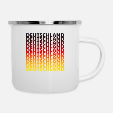 Germany Germany! Germany! Germany! - Enamel Mug