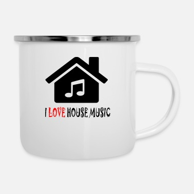 House Camicia Party House House House - Tazza smaltata