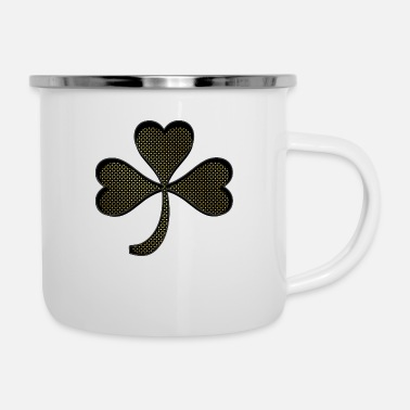 Shamrock Shamrock gold - Tazza smaltata