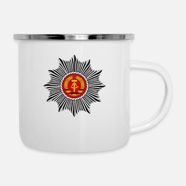 New German States people's police - Enamel Mug
