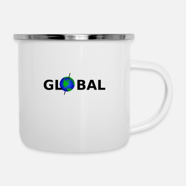 Global Global - Emaille-Tasse