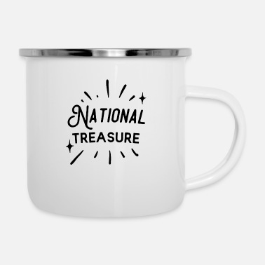 National National Treasure - Emaille-Tasse
