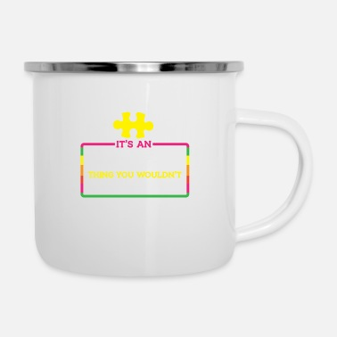 Awareness awareness - Enamel Mug