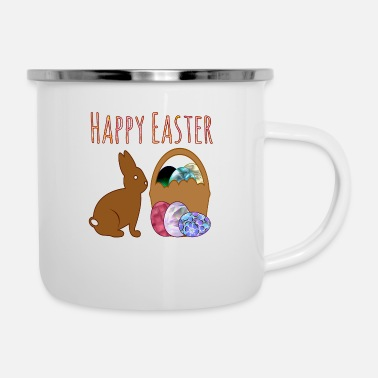 Basket Easter baskets - Enamel Mug