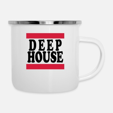 Deephouse deephouse - Emaille-Tasse