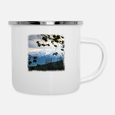Winner Alps - Enamel Mug