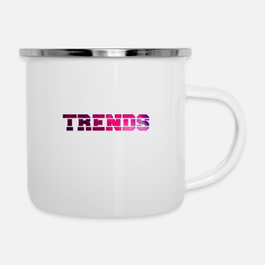 Trend Trends - Emaille-Tasse