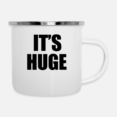 Hugs Huge - Emaille-Tasse