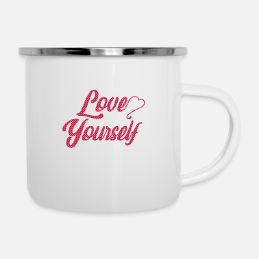 Schoon Love Yourself - Love - Gift Idea - Emaille mok