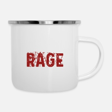 Class I WOULD LIKE TO RAGE - Enamel Mug