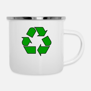 Enviromental Recycle - Enamel Mug