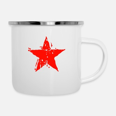 Star star icon shapes - Enamel Mug