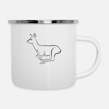 Gallop Deer galloping - Enamel Mug