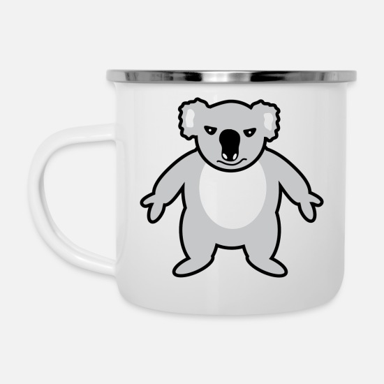 Forest Mugs & Drinkware - Koala - Enamel Mug white