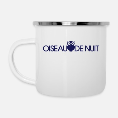 Night Owl Night-Owl - Enamel Mug