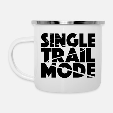 Single VTT trail single fashion - Tasse émaillée