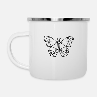 Animal Collection Animal collection: The butterfly - Enamel Mug