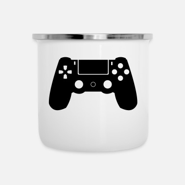 Controller Controller - Emaille-Tasse