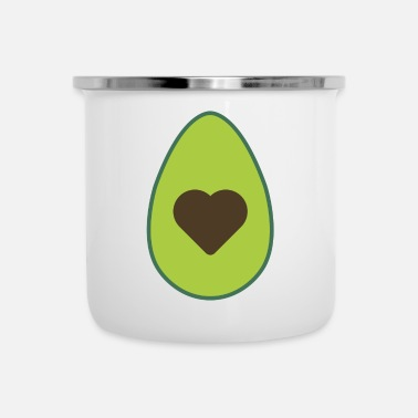 Trend Trend avocado - Emaille mok