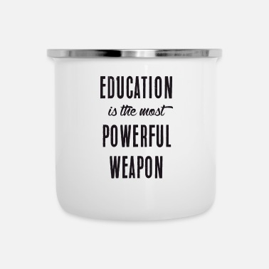 Education Culture Education - Enamel Mug