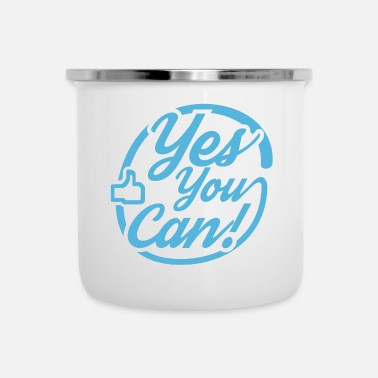 yes you can - Emaille-Tasse
