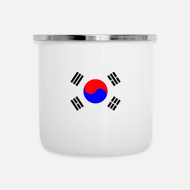South Korea South Korea - Enamel Mug
